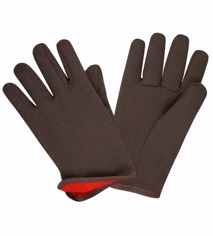 CORDOVA - Men's Jersey Gloves Large Red Brown