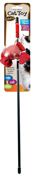 CAT PALS - Bow Wow Cat Toy Play Wand