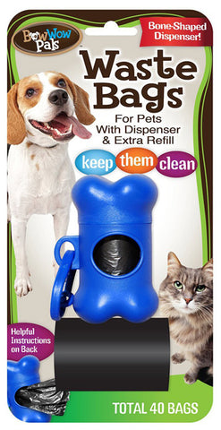 BOW WOW - Waste Bags with Dispenser and Extra Refill
