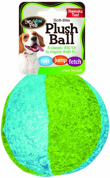 BOW WOW - Pals Plush Ball Pet Toy