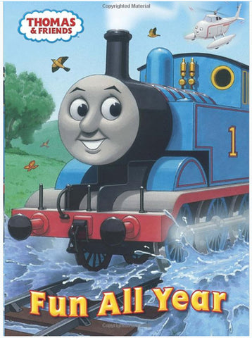 GOLDEN BOOKS - Fun all Year Thomas & Friends Super Coloring Book