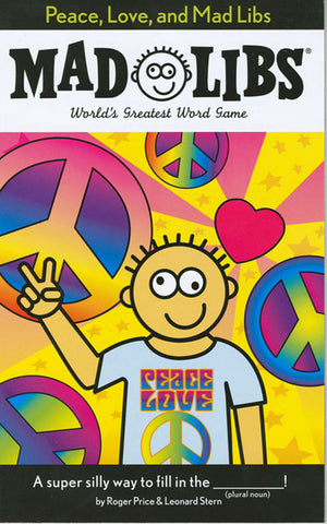 PRICE STERN SLOAN - Peace, Love and Mad Libs
