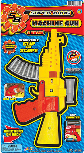 "JA-RU - Super Bang Machine Toy Gun 6""x12"""