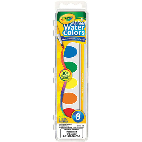CRAYOLA - Washable Watercolor Paint Set