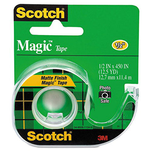SCOTCH - Magic Tape with Plastic Dispenser