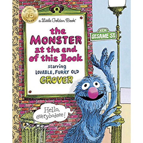 GOLDEN BOOKS - The Monster at the End of This Book