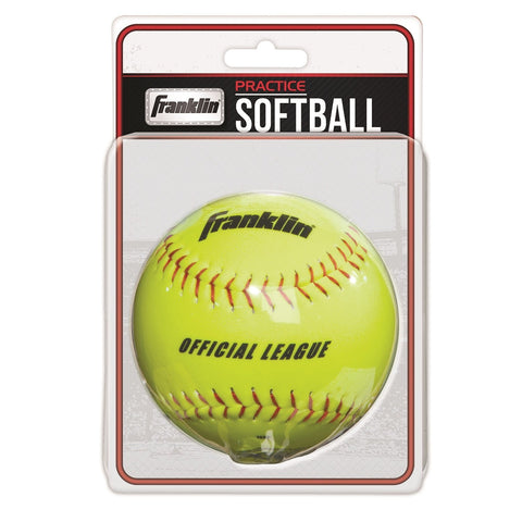 FRANKLIN - Practice Softballs, Yellow