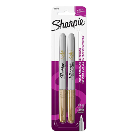 SHARPIE - Fine Point Metallic Permanent Marker Gold