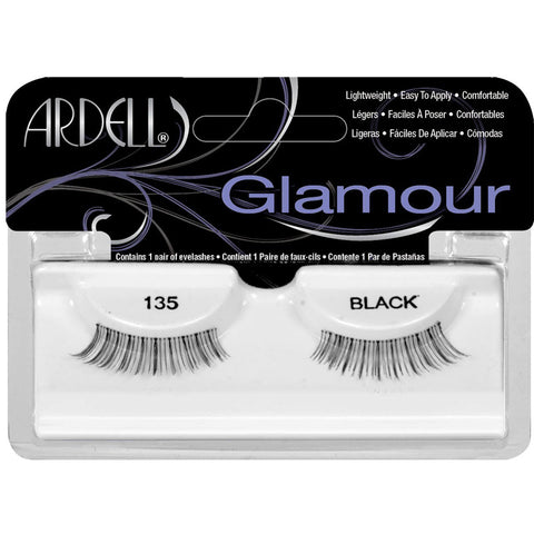ARDELL - Fashion Lashes, Natural Lashes #135 Black