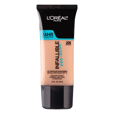 L'OREAL - Infallible Pro-Glow Foundation, Buff Beige