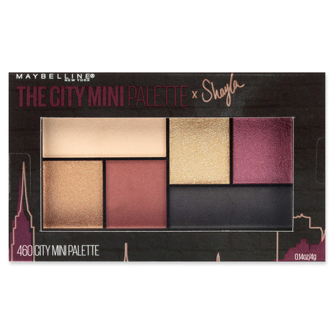 MAYBELLINE - The City Mini Palette x Shayla Eyeshadow