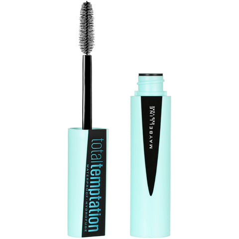 MAYBELLINE - Total Temptation Waterproof Mascara Very Black