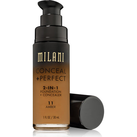 MILANI - Conceal + Perfect 2-in-1 Foundation Concealer, Amber Nectar