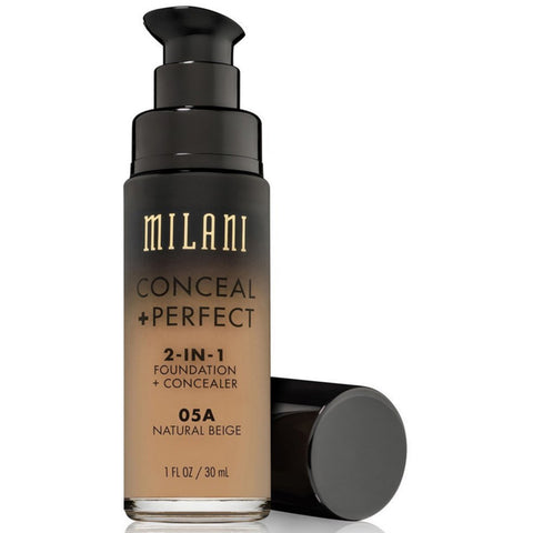 MILANI - Conceal + Perfect 2-in-1 Foundation Concealer, Natural Beige