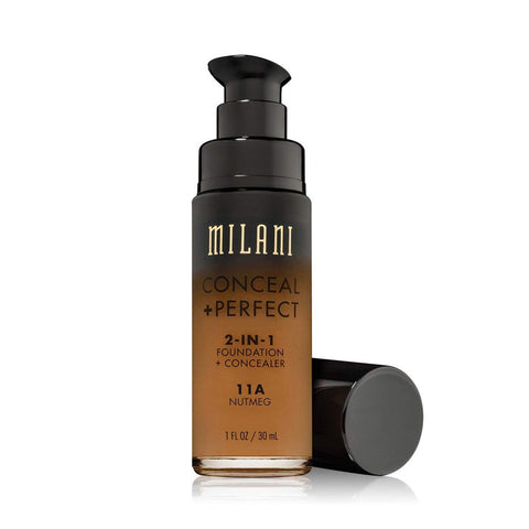 MILANI - Conceal + Perfect 2-in-1 Foundation Concealer, Nutmeg