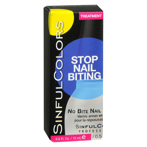 SINFULCOLORS - No Bite Nail Treatment