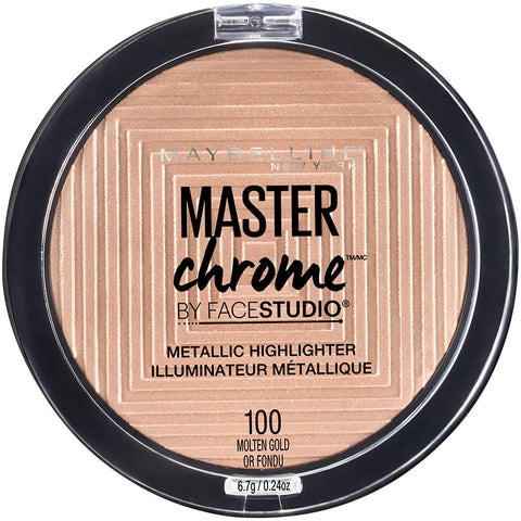 MAYBELLINE Face Studio Master Chrome Highlighter Molten Gold