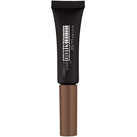 MAYBELLINE TattooStudio Waterproof Eyebrow Gel Warm Brown