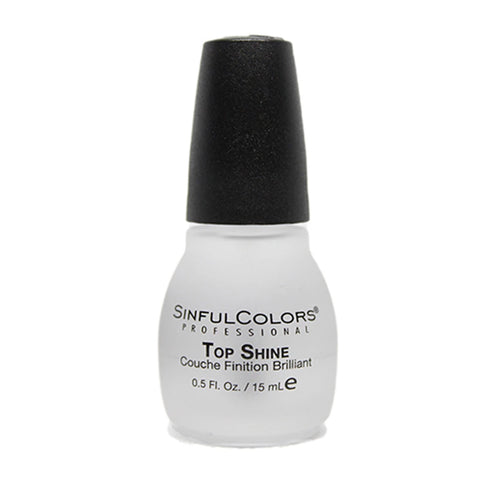 SINFULCOLORS - Top Shine Nail Treatment