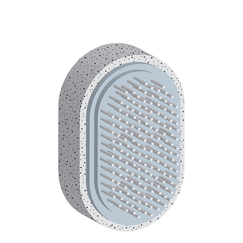 DIAMOND COSMETICS - Pumice Stone with Brush 20429