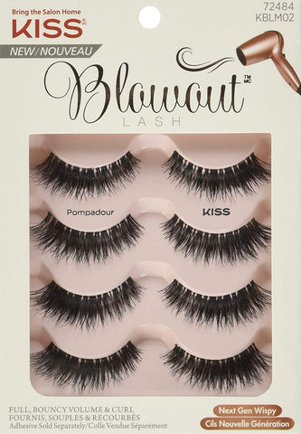 KISS - Blowout Lashes Multipack Pompadour