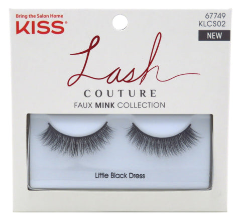 KISS - Lash Couture Faux Mink Collection Little Black Dress