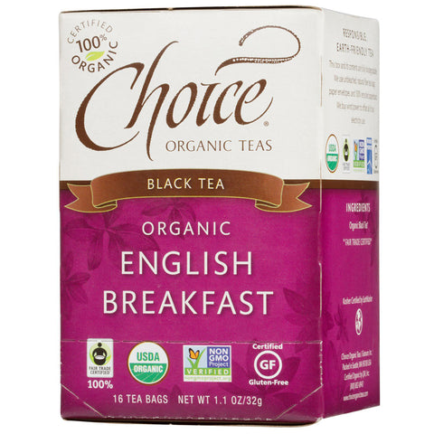 Choice Organic Teas Organic English Breakfast Tea
