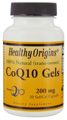Healthy Origins CoQ10 Gels 200 mg