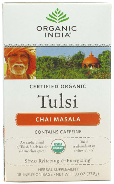 Organic India Tulsi Chai Masala Tea