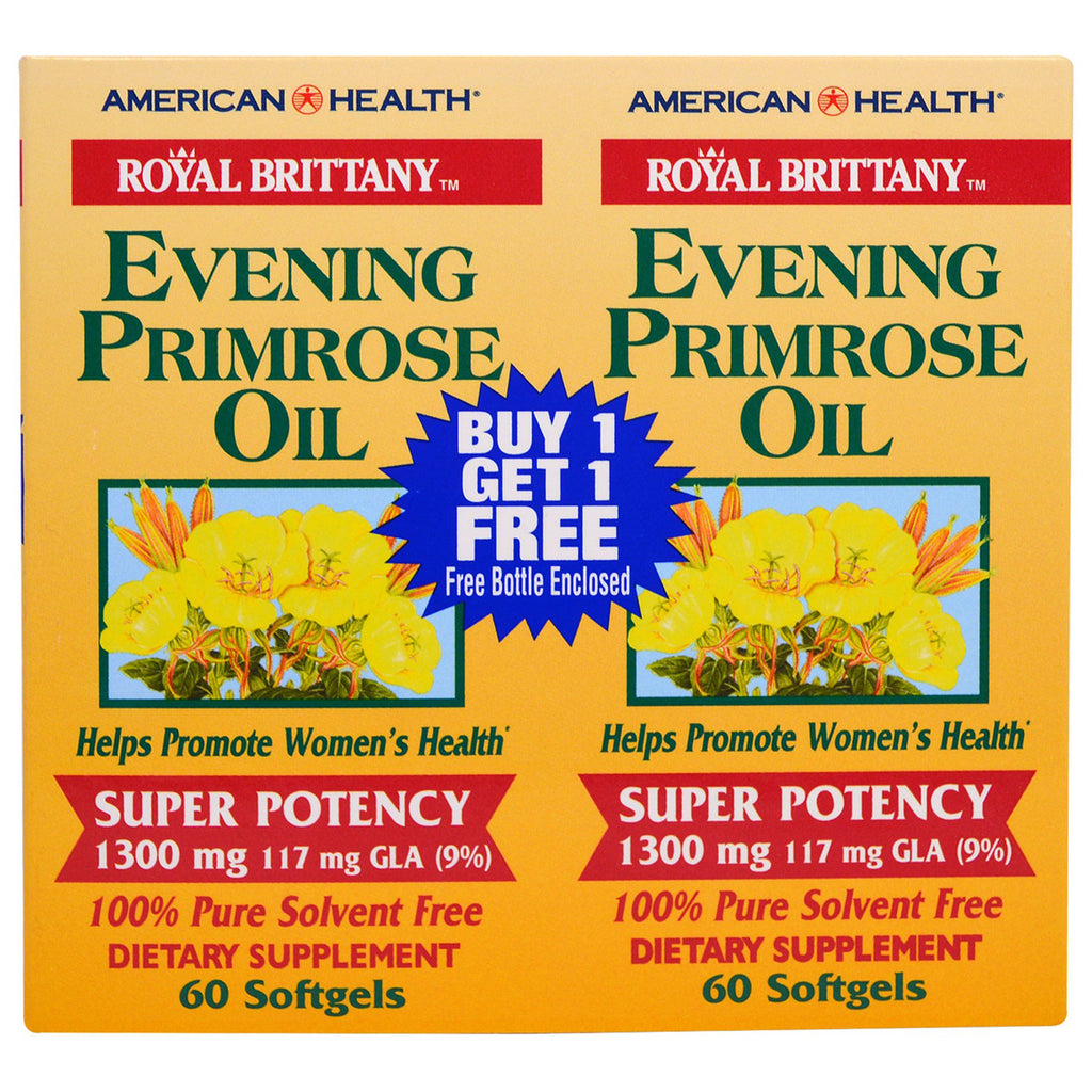 American Health Evening Primrose Oil 1300 mg