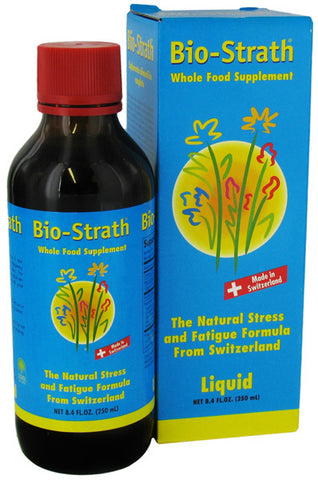 BIO STRATH - Herbal Yeast Liquid Supplements - 8.4 fl. oz.