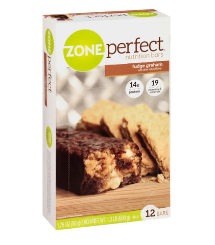 Zone Perfect Nutrition Bars Fudge Graham