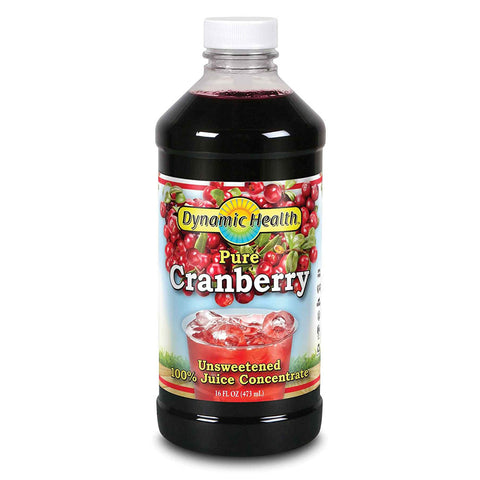 DYNAMIC HEALTH - Pure Cranberry 100% Juice Concentrate, Unsweetened