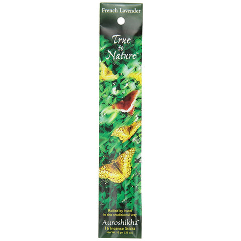 AUROSHIKHA - True To Nature Incense French Lavender