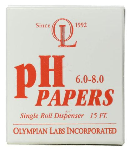 Olympian Labs pH Papers 6 0  8 0