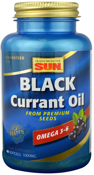 HealthFromTheSun Black Currant Oil 1000 mg