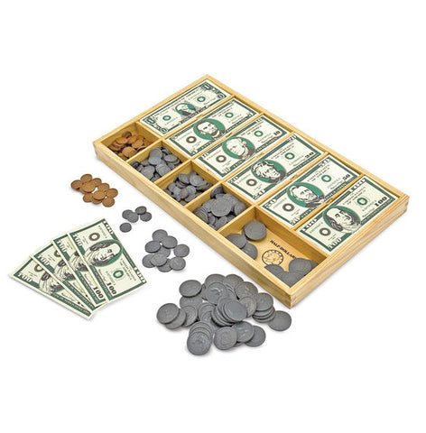 Melissa & Doug - Classic Play Money Set