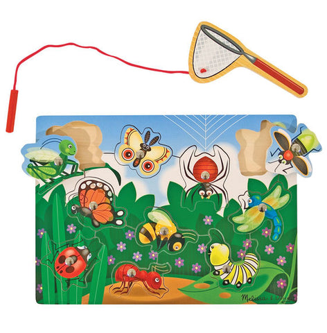 Melissa & Doug - Bug-Catching Magnetic Puzzle Game
