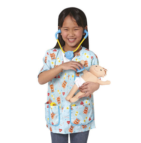 Melissa & Doug - Pediatric Nurse Role Play Costume Set
