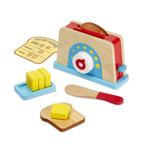 Melissa & Doug - Bread & Butter Toast Set