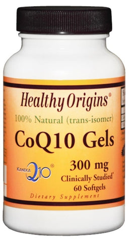 Healthy Origins CoQ10 Gels 300 mg