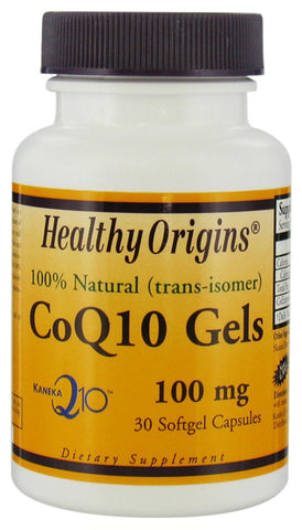 Healthy Origins CoQ10 Gels 100 mg