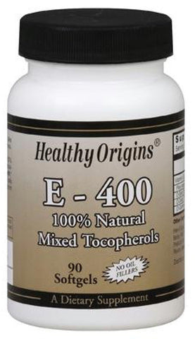 Healthy Origins Vitamin E 400 Mixed Tocopherols
