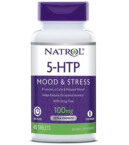 Natrol 5 HTP Time Release 100 mg