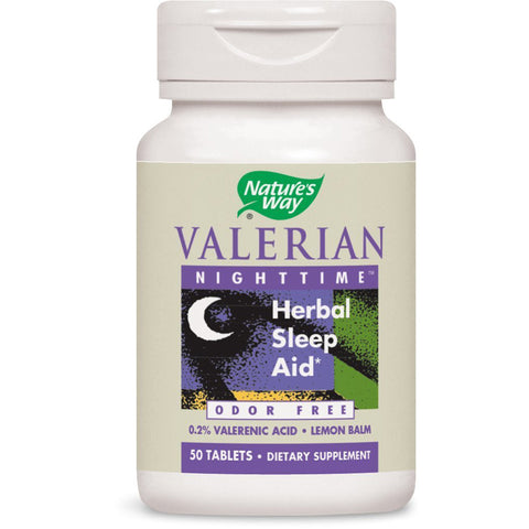 NATURES WAY - Valerian Nighttime Natural Sleep Aid