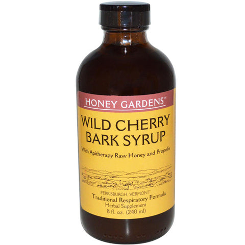 Honey Gardens Apiaries Apitherapy Honey Wild Cherry Syrup