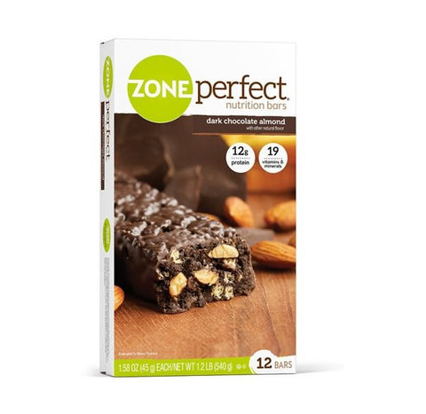 Zone Perfect Nutrition Bars Dark Chocolate Almond