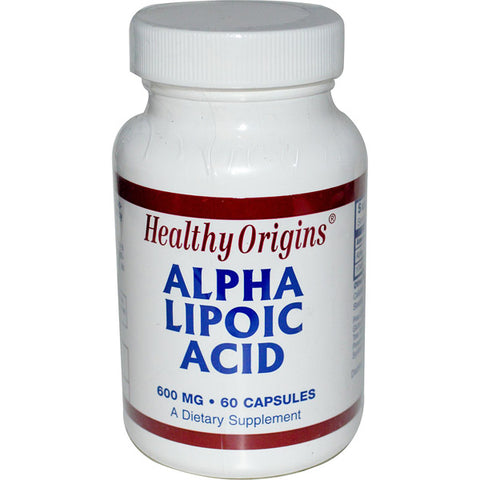 Healthy Origins Alpha Lipoic Acid 600 mg