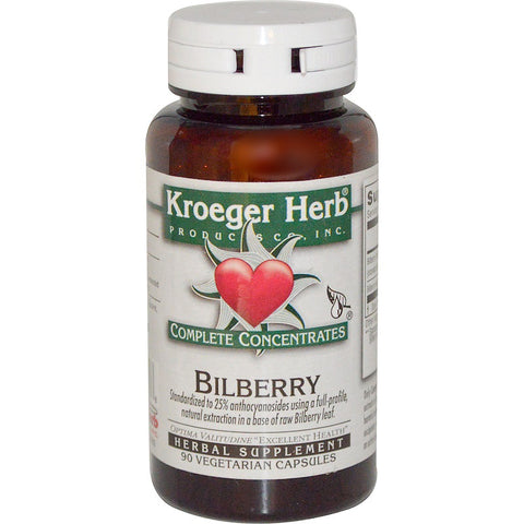 KROEGER - Bilberry Complete Concentrate