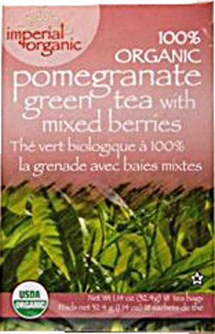 UNCLE LEE'S TEA - Imperial Organic Pomegranate Green Tea